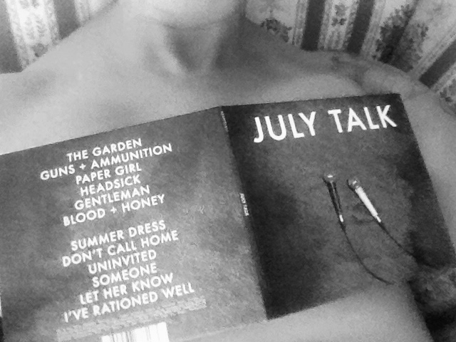 July Talk Review Without Words