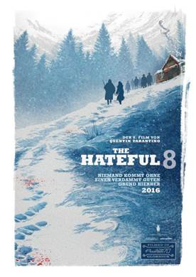 The Hateful 8 Plakat