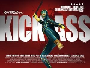 Kick-Ass Red Poster