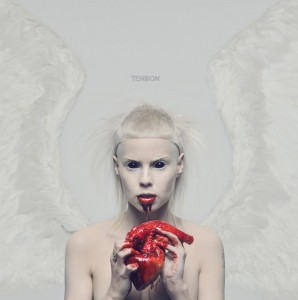 DIE ANTWOORD - TEN$ION - ALBUM COVER
