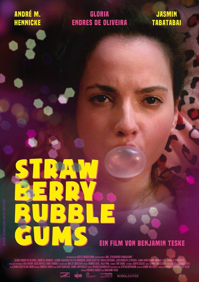 Strawberry Bubblegums Plakat